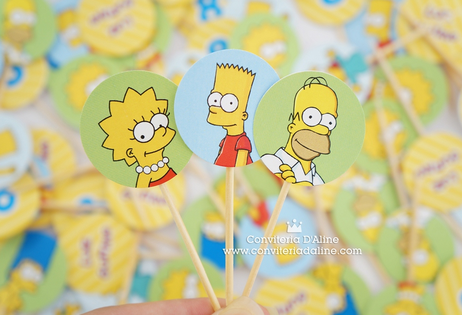toppers simpsons