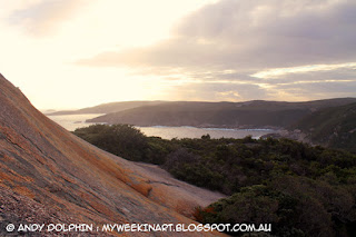 view from Peak Head, Albany WA. Andy Dolphin.