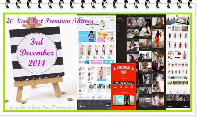 20 New Best Premium Themes 2014