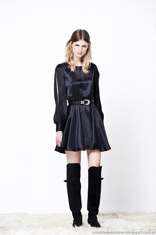 Delaostia otoño invierno 2014. Moda otoño invierno 2014 vestidos.