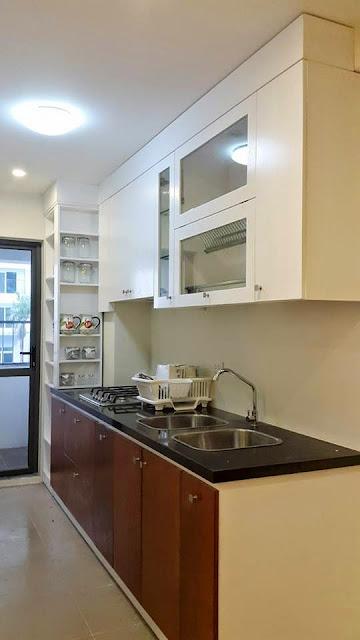 Thiết kế kệ bếp, tủ bếp chung  cư ct3 tây nam linh đàm
