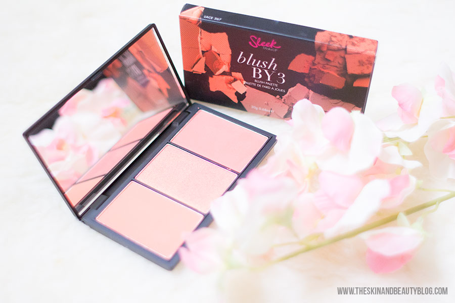 Sleek Makeup Blush By 3 in Lace Review, Swatches