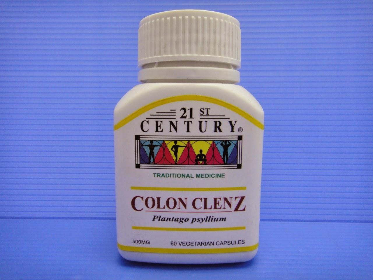 21st Century Colon Clenz kurangkan jerawat
