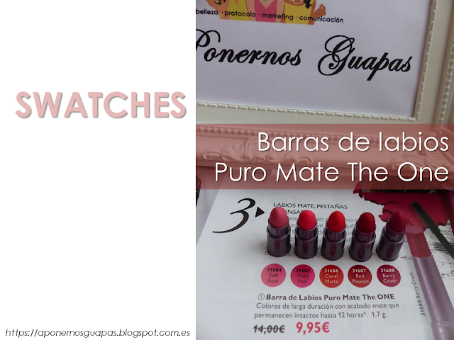 Swatches Puro Mate The One Oriflame