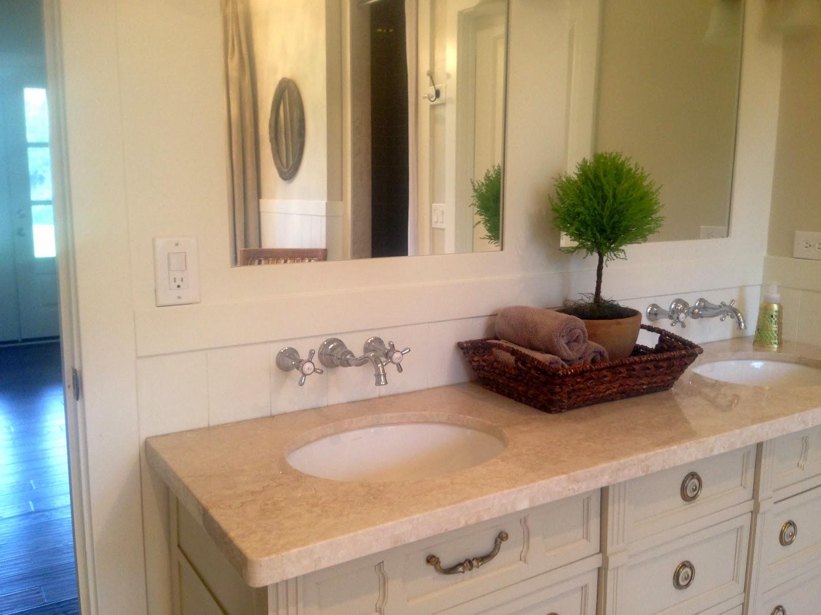 Ranch House Rehab Final Master Bathroom Fixtures