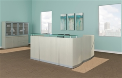 Textured Sea Salt Medina Reception Desk