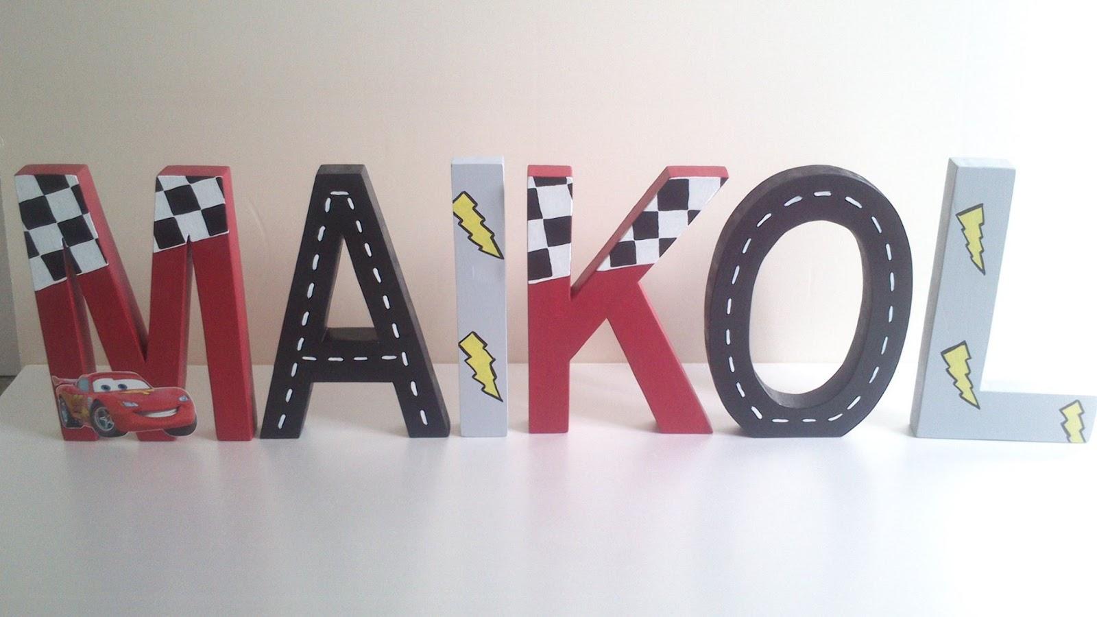 Letras decorativas y mucho m s - Letras decorativas pared ...