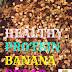 Healthy protein banana bread