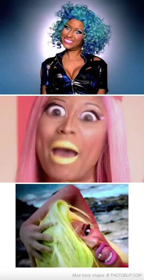Never Pause A Nicki Minaj Video Funny Hun