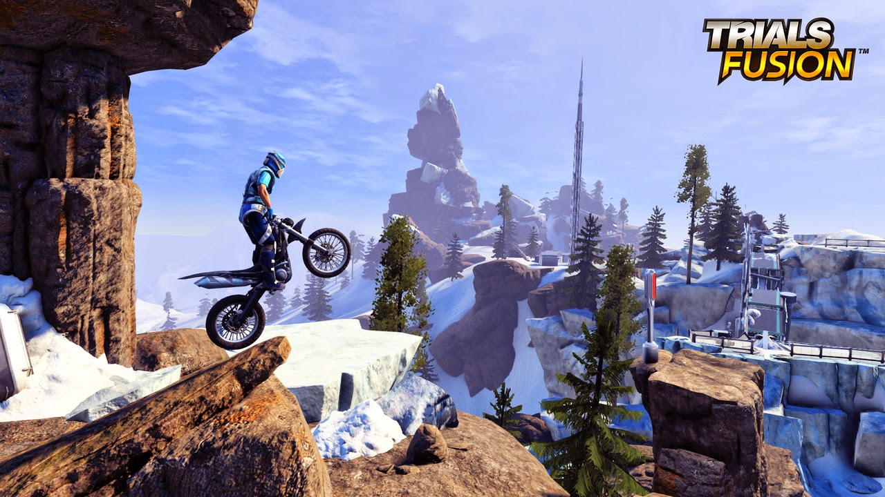 Trials Fusion Game Screenshots
