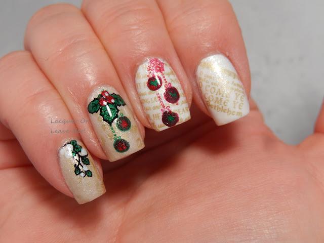 MoYou London Festive 17 with Zoya holiday 2015 Matte Velvet polishes