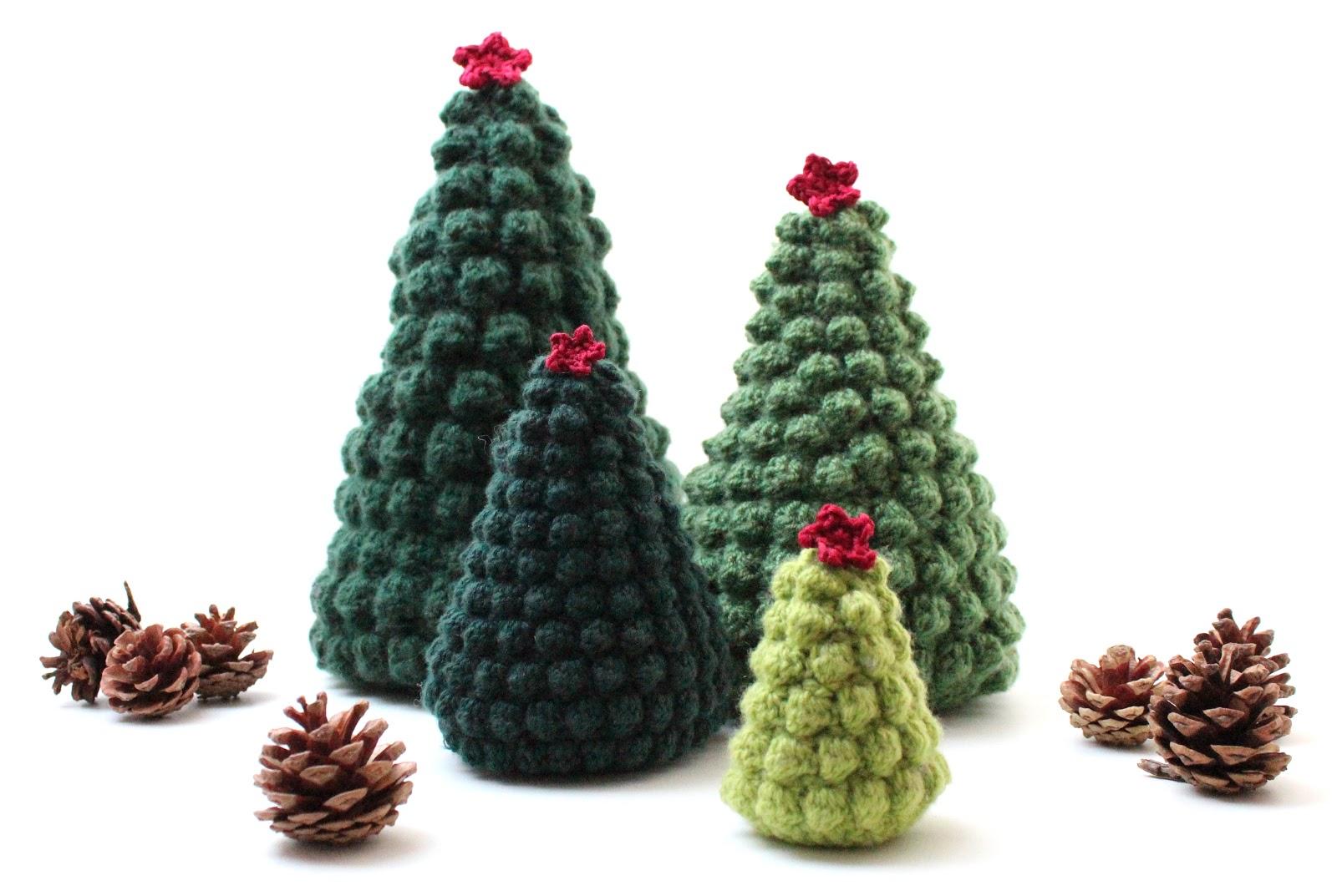 crochet christmas tree etsy