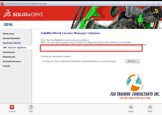 network license manager solidworks