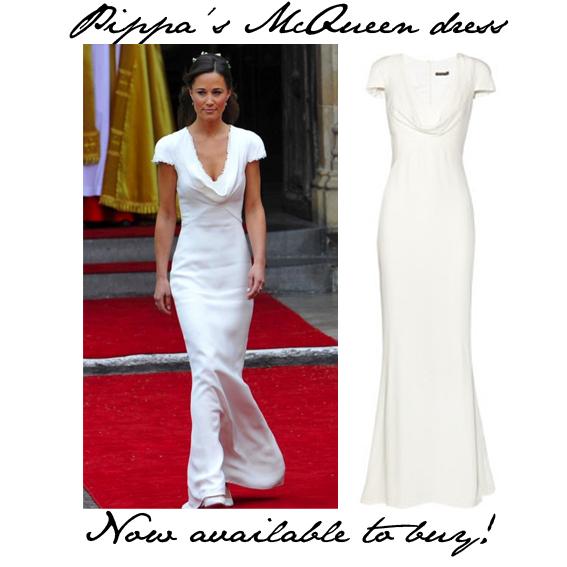 Buy pippa 39 s alexander mcqueen royal wedding dress for Pippa middleton wedding dress buy