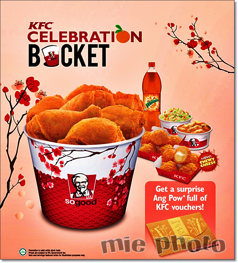 """KFC Celebration Bucket"" Pengganti Kek Hari Jadi | mie"