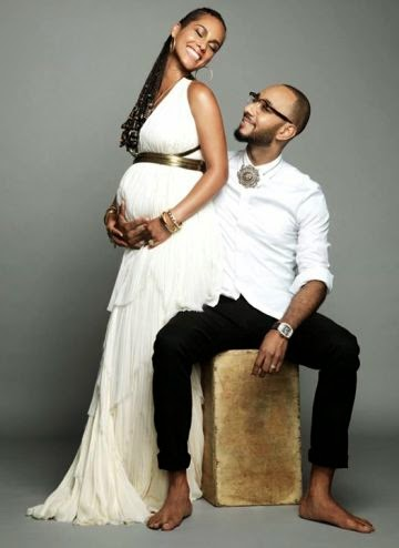 Alicia Keys Expecting 2nd Child With Swizz Beatz, Shares Baby Bump Photo