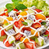 Resep Salad Buah Saus Mint