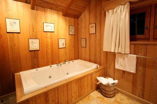Genie bricolage d coration d coration salle de bain for Idee deco salle de bain bois