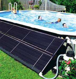 Photovoltaic systems and solar water heating renewable - Solar powered swimming pool heater ...