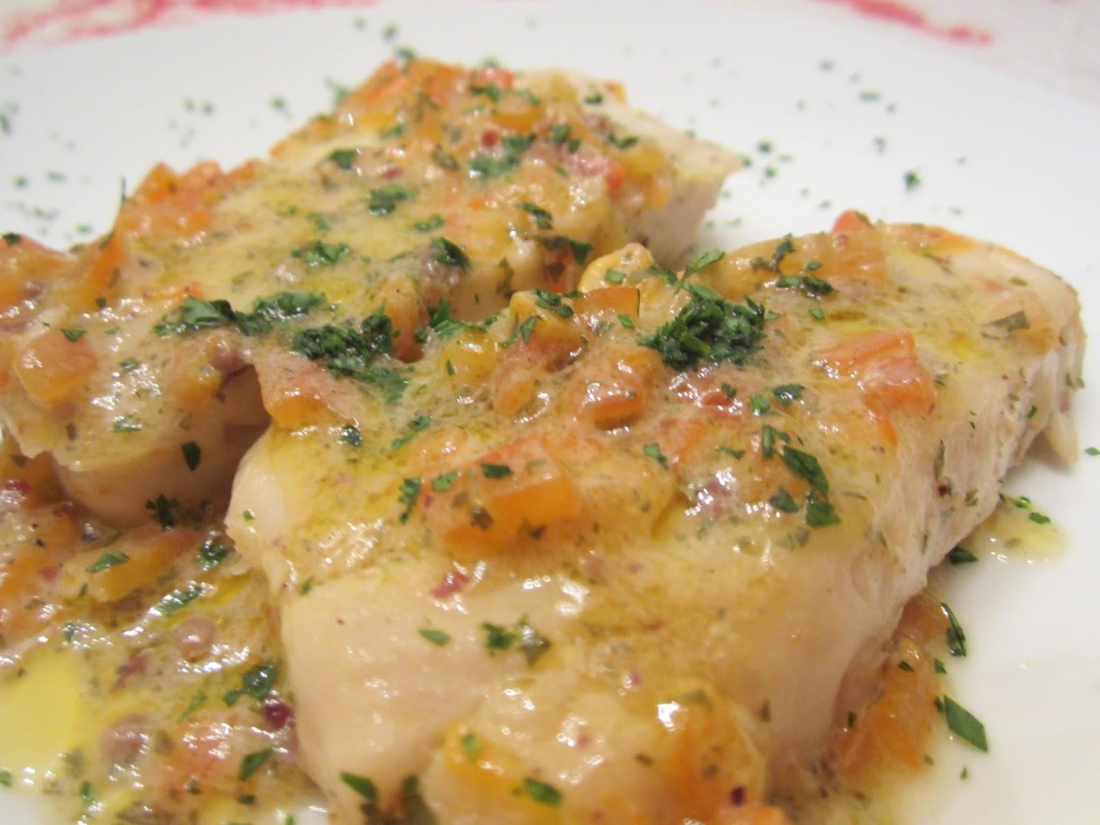 filetti di merluzzo ai peperoni e pepe rosa. | peppe ai fornelli - Cucinare Filetto Di Merluzzo