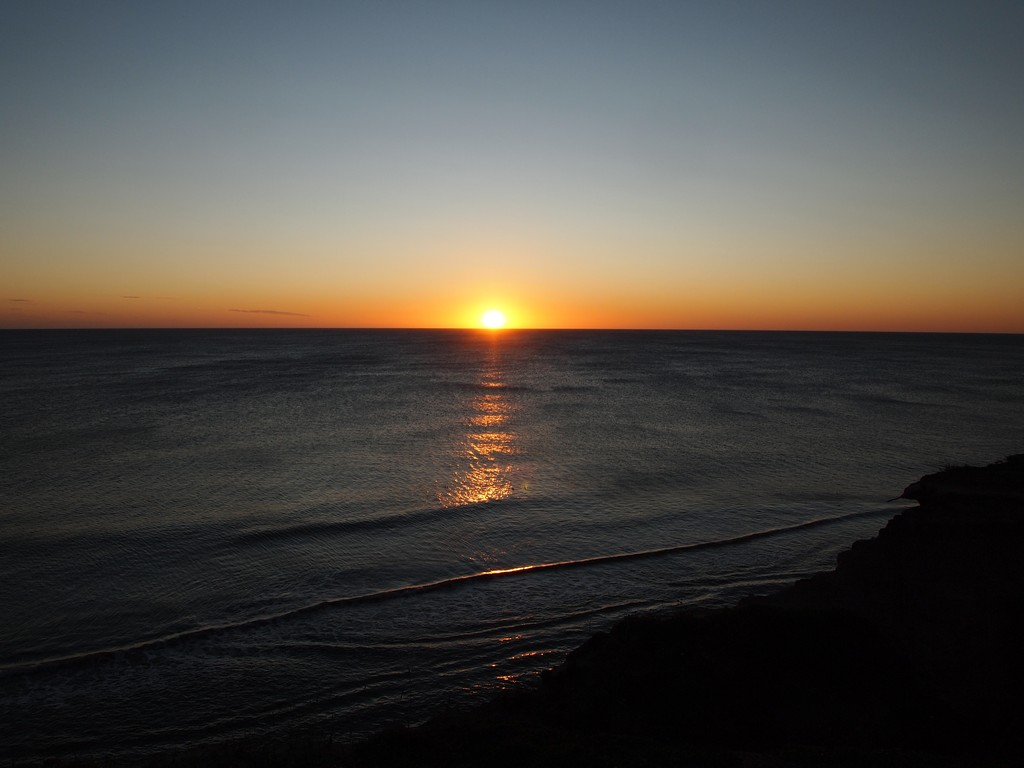 Рассвет. Сахалин. Охотское море