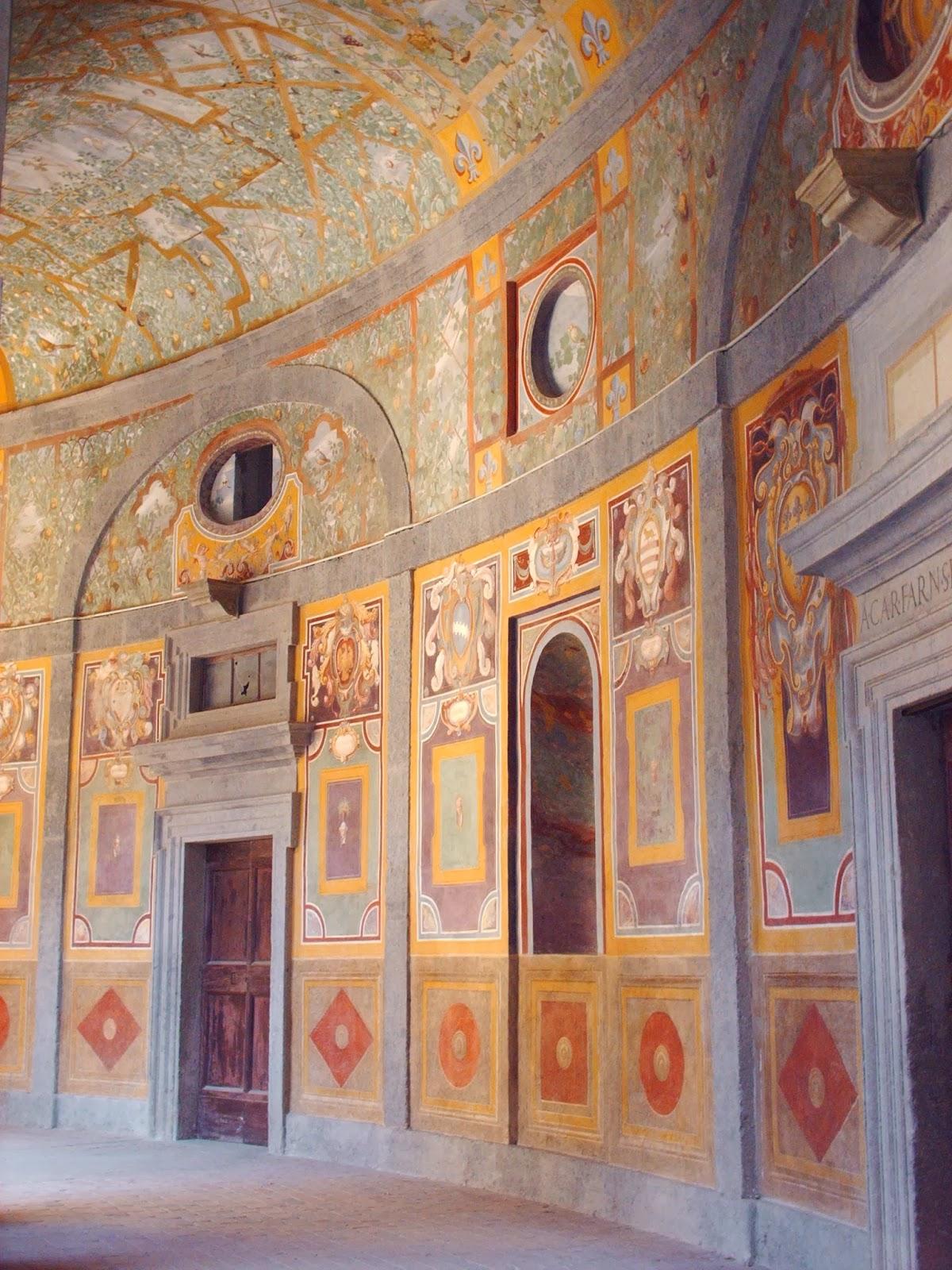 Visita al Palazzo Farnese di Caprarola, una delle meraviglie del Lazio
