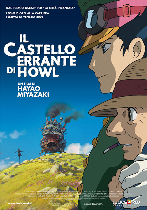 anime on blu ray il castello errante di howl