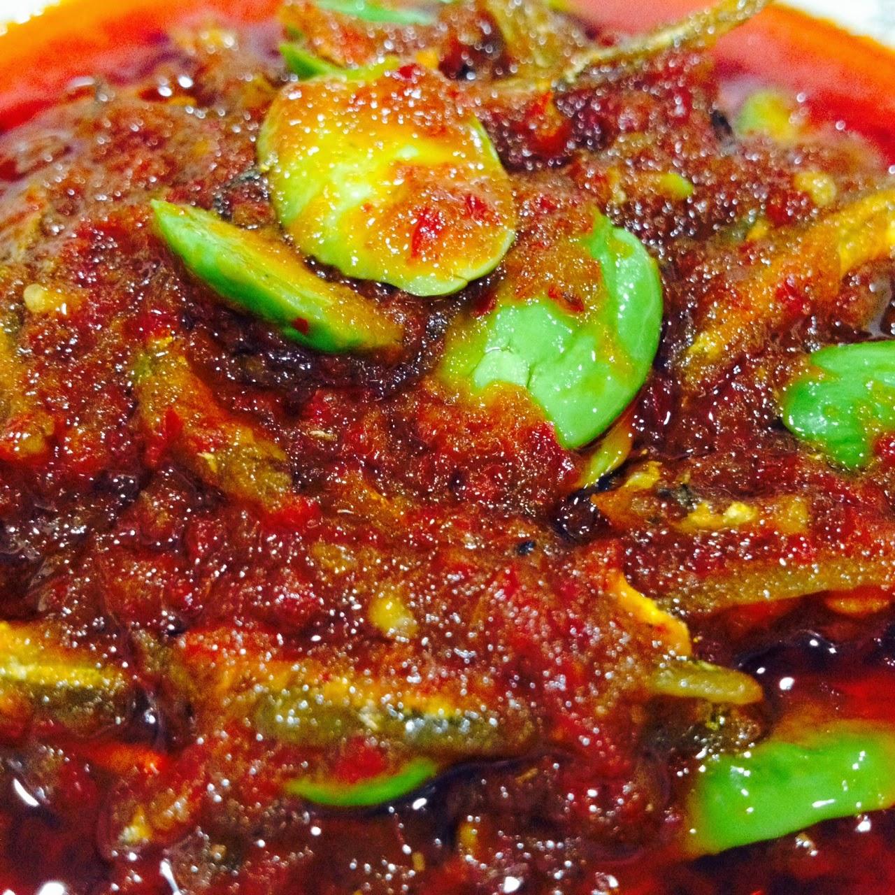 Cik Wan Kitchen Sambal Ikan Bilis Dengan Petai