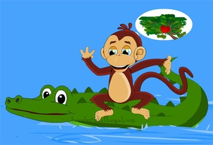 Monkey and the Crocodile 6