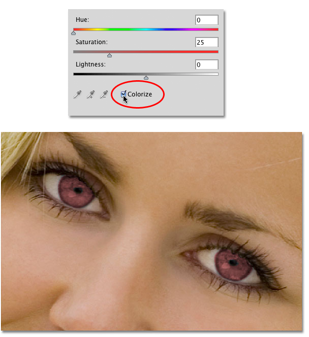 Cara Mengubah Warna Bola Mata dengan Photoshop Cs3