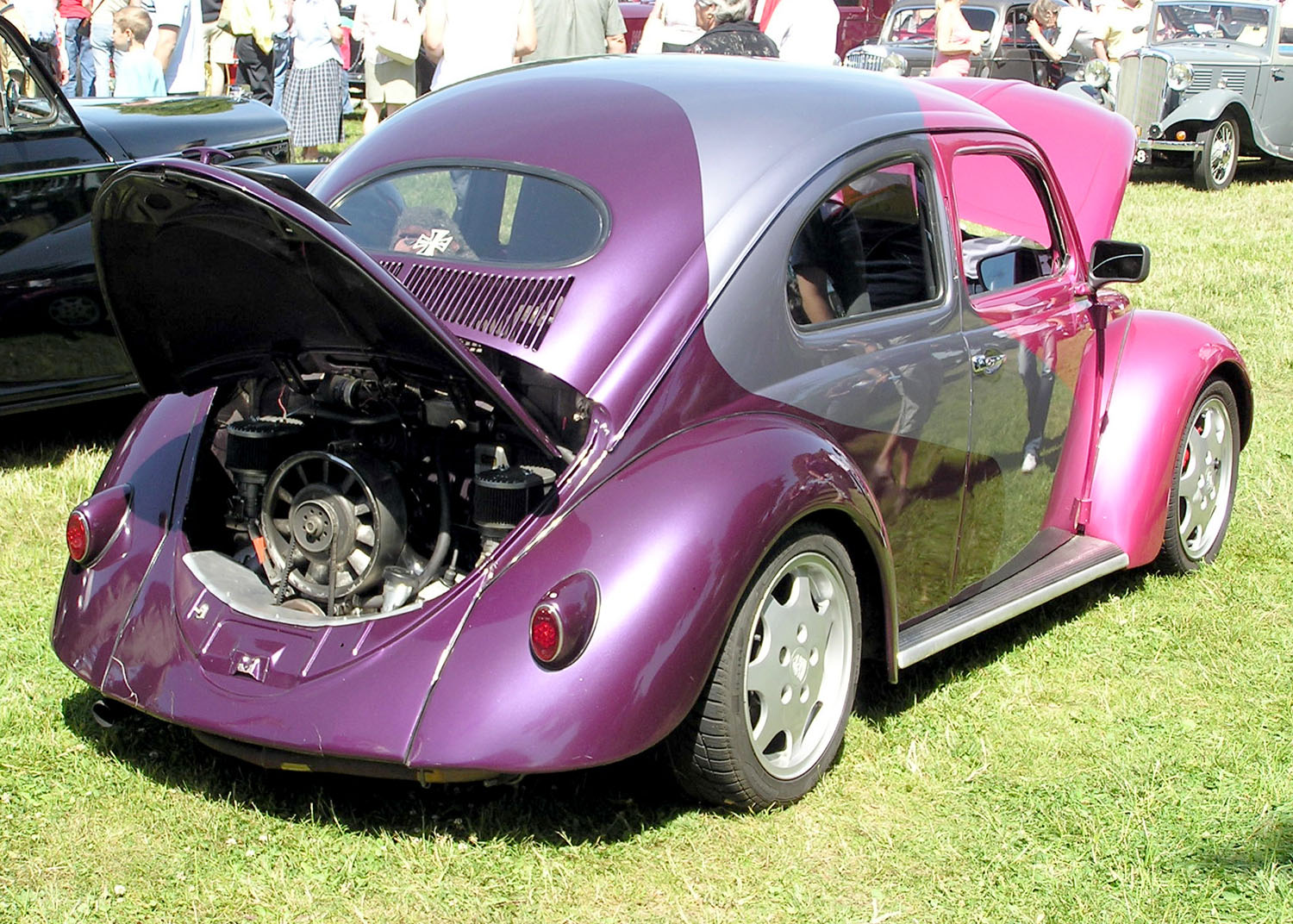 vw bug modified