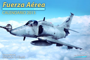 CALENDARIO FUERZA AREA 2013