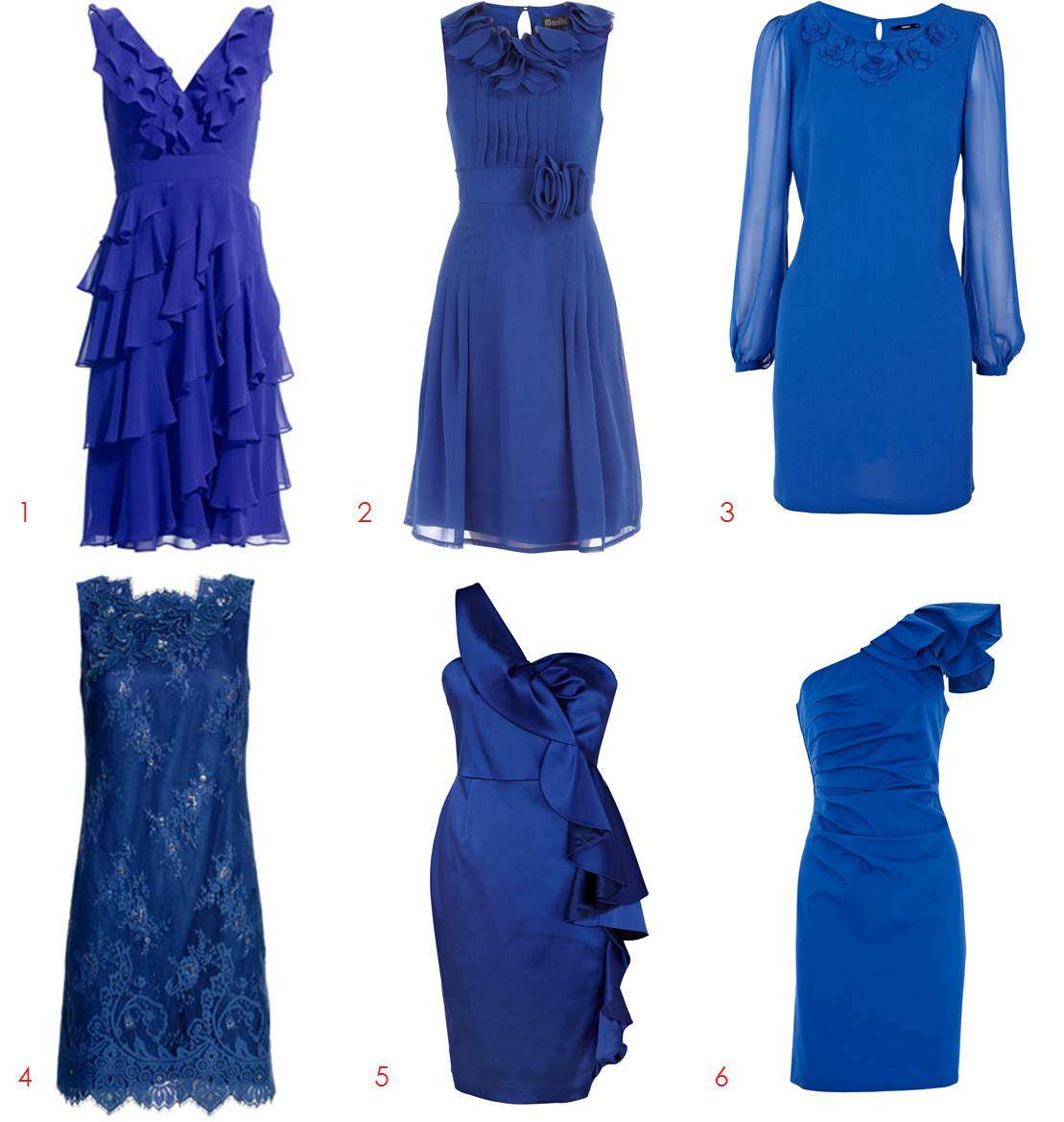 cobalt blue bridesmaid dresses pictures cobalt blue