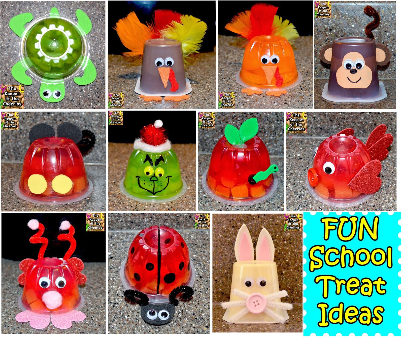 Classroom Snack Ideas ~ Kids school treat and snack ideas