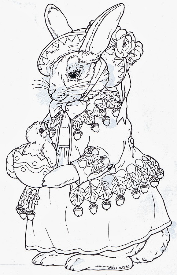 jemima puddle duck coloring pages - photo#25