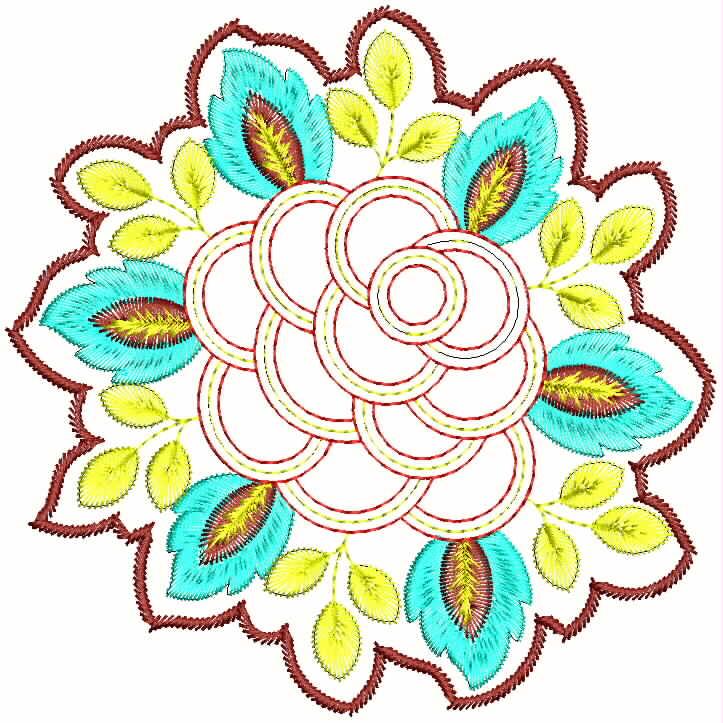 Embdesigntube: Patchwork Quilt Patterns Embroidery Designs