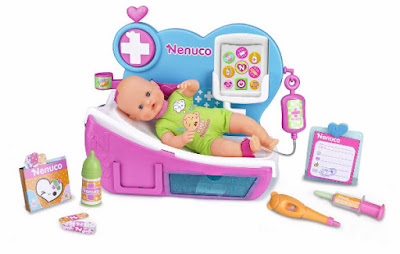 TOYS : JUGUETES - NENUCO - Doctora ¿Por qué llora? Producto Oficial 2015   Famosa 700012388   A partir de 3 años Comprar en Amazon España