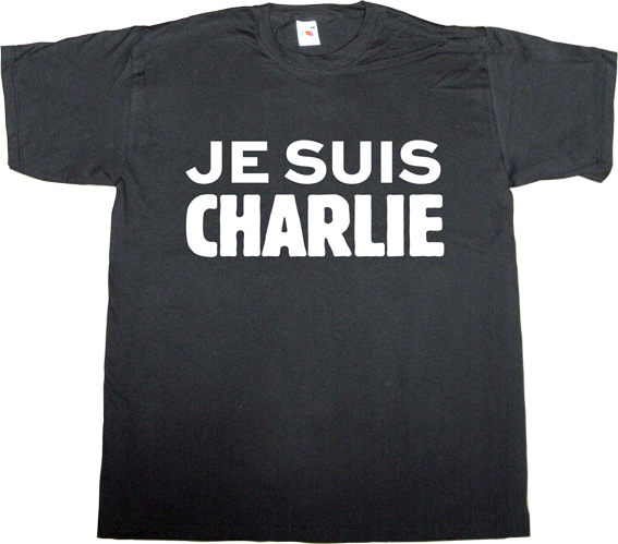 charlie hebdo freedom freedom of speech useless religions terrorism support t-shirt ephemeral-t-shirts