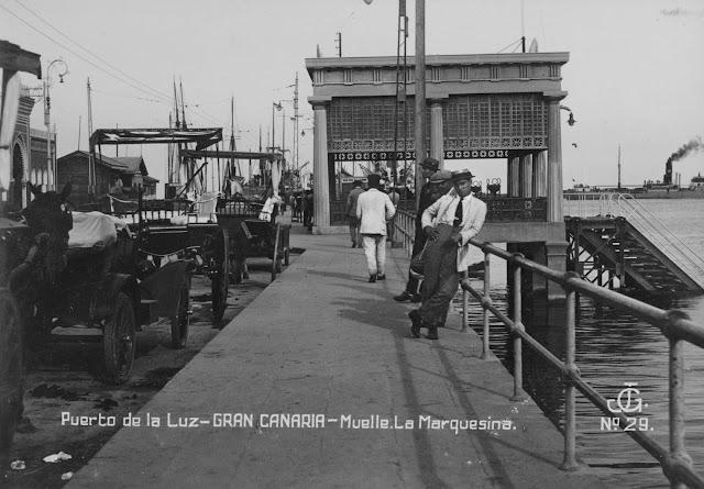 Imagen propiedad del archivo de fotografía histórica de Canarias. FEDAC-CABILDO DE GRAN CANARIA