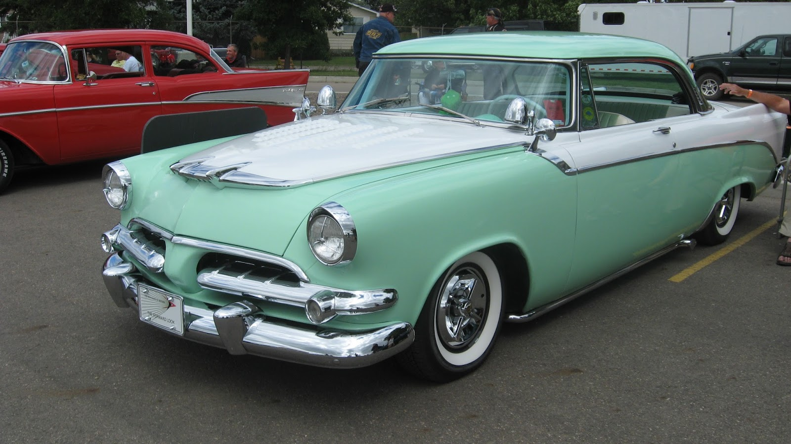 Automobile Brand S Of The Past Two Tone Cars Of The Fifties