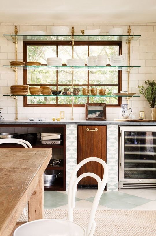 Simply Love Design Kitchen Details Shelving Cabinetry In Front Of Windows