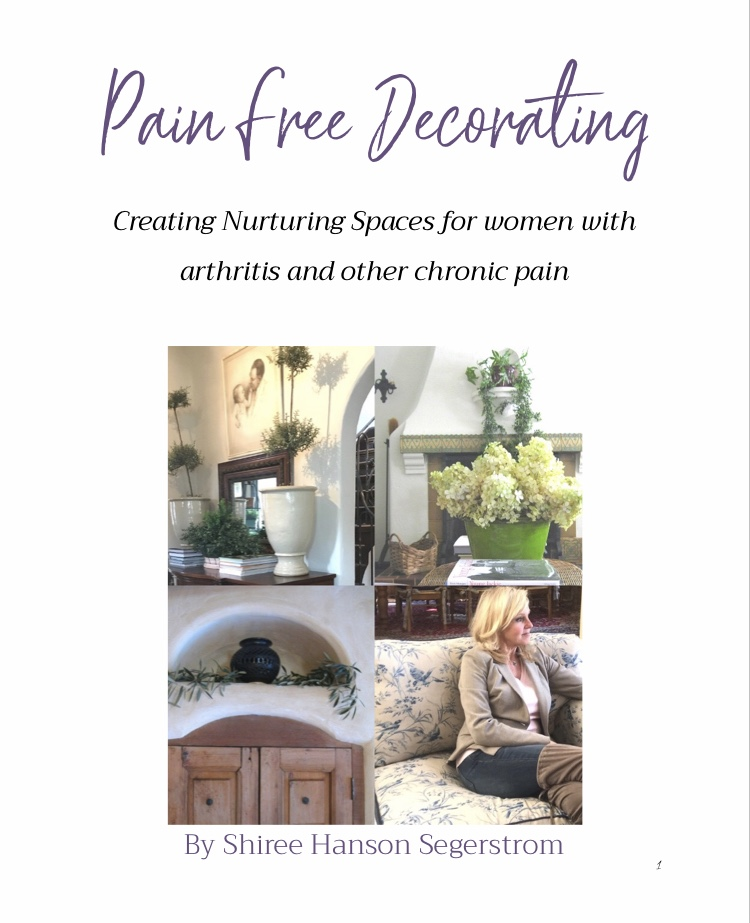 My first eBook Pain Free Decorating!