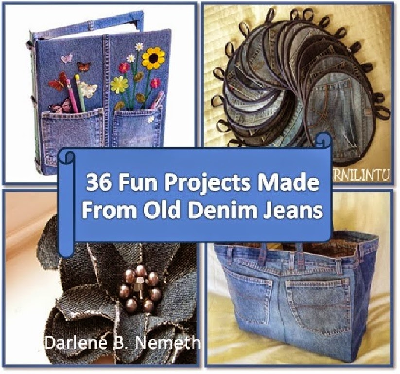 36 Projects Made From Old Denim Jeans