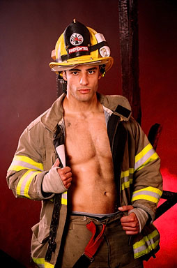 Authoritative answer, Hot naked male firemen topic