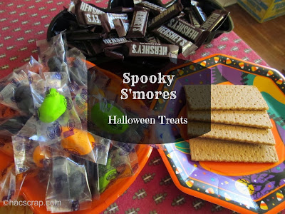 Spooky S'mores Halloween Treats | My Scraps