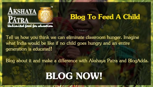 Blog to Feed A Child.