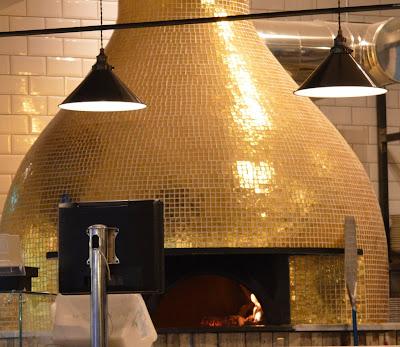 Rossopomodoro Neapolitan restaurant - John Lewis Newcastle pizza oven