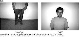 Совет 39. При съемке портрета постарайтесь что бы лицо все таки попало в кадр