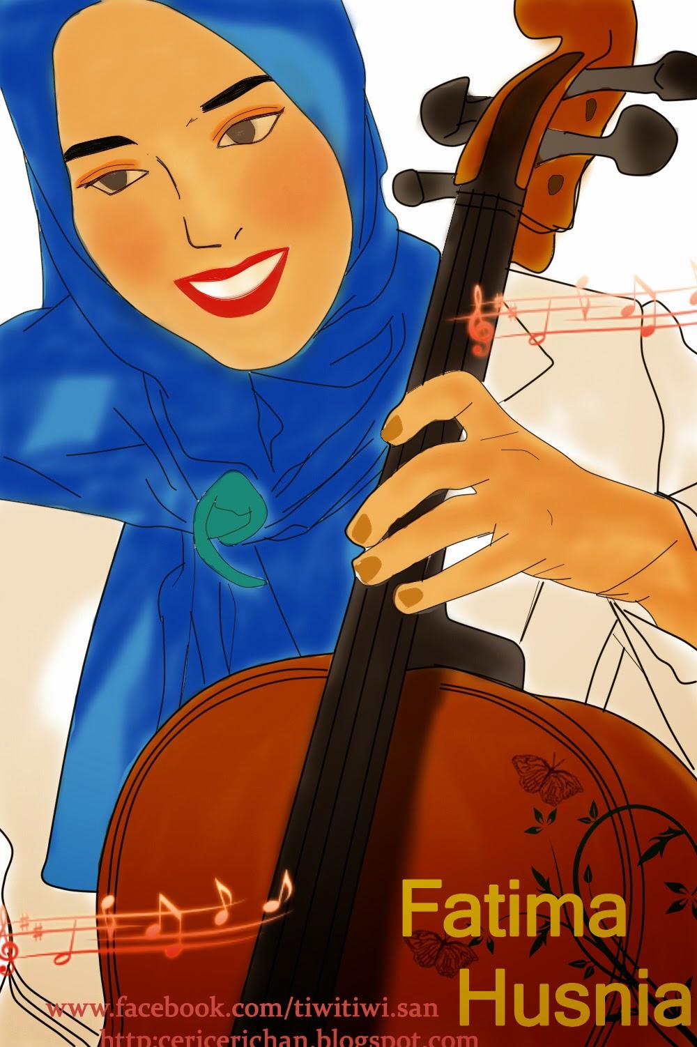 Fatima Husnia, SAI, DEBU, wallpaper, animasi