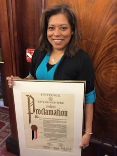 NYC Council Proclamation